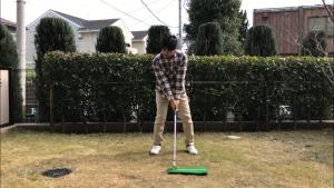 ゴルフスイング、アドレス