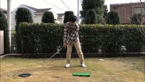 ゴルフスイング、バックスイング