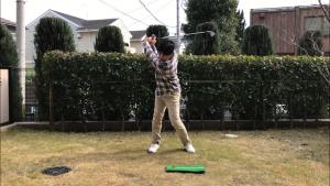 ゴルフスイング、切り返し