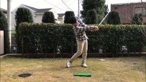 ゴルフスイング、フォロースイング