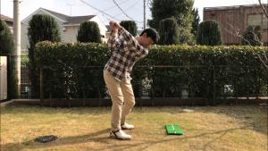 ゴルフスイング、トップ
