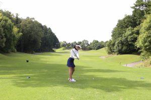 ゴルフスイング、肩回転