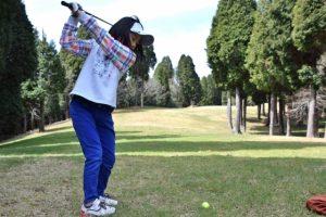 オーバースイング、ゴルフ