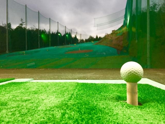 ゴルフ、練習