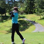 ゴルフ、スイング