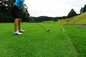 ゴルフ、アドレス
