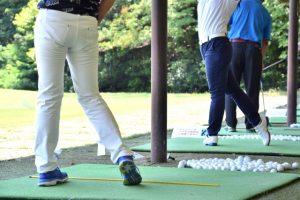 ゴルフ、練習、クラブ選択